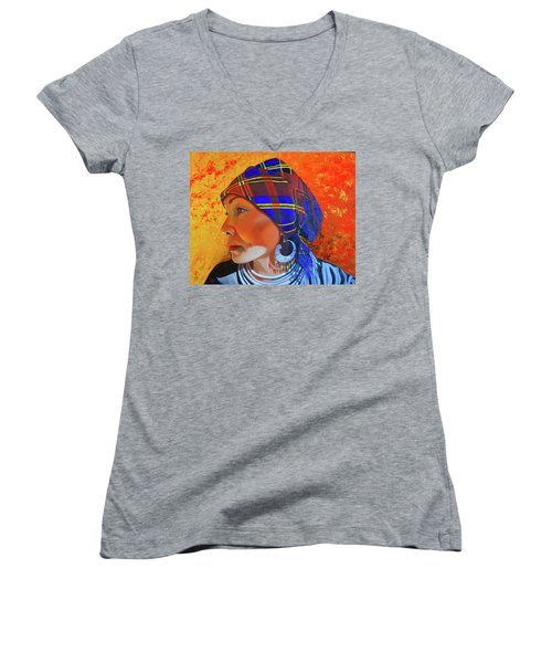 Chaos And Order Women's V-Neck