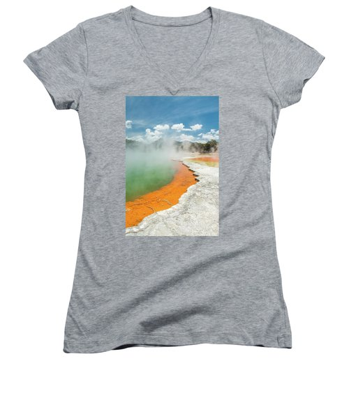 Champagne Pool Women's V-Neck (Athletic Fit)