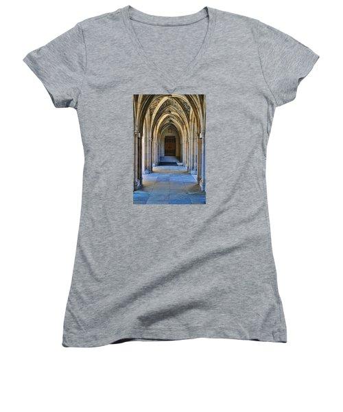 Chapel Arches Women's V-Neck