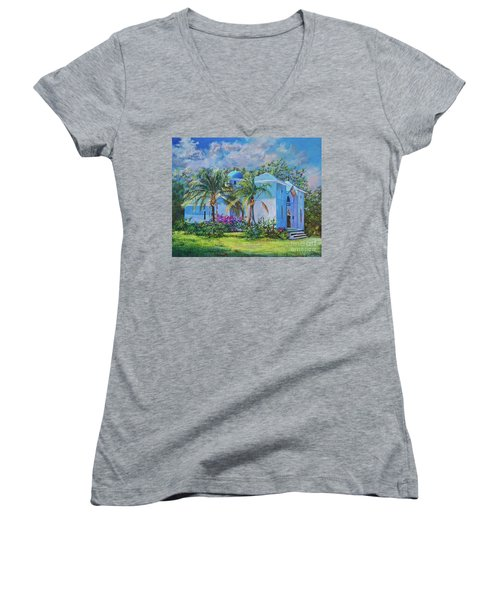 Chapel Of St. Panteleimon Women's V-Neck