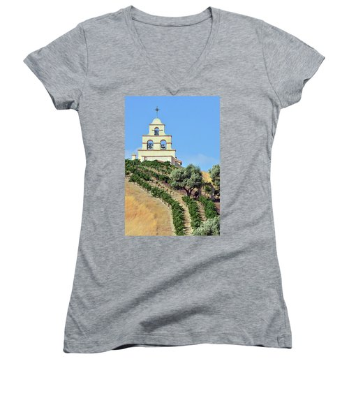 Chapel On The Hill Women's V-Neck T-Shirt