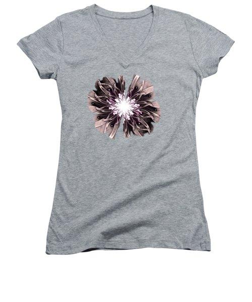 Charismatic Women's V-Neck T-Shirt (Junior Cut) by Anastasiya Malakhova