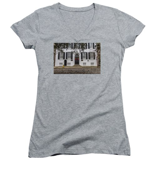Charleston Doorway 3 Women's V-Neck