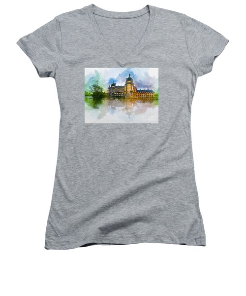 Chateau De Chantilly Women's V-Neck