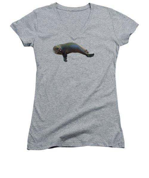 Cheeky Seal Women's V-Neck