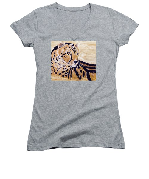 Cheeta Women's V-Neck