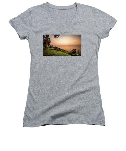 Chesapeake Morning Women's V-Neck T-Shirt