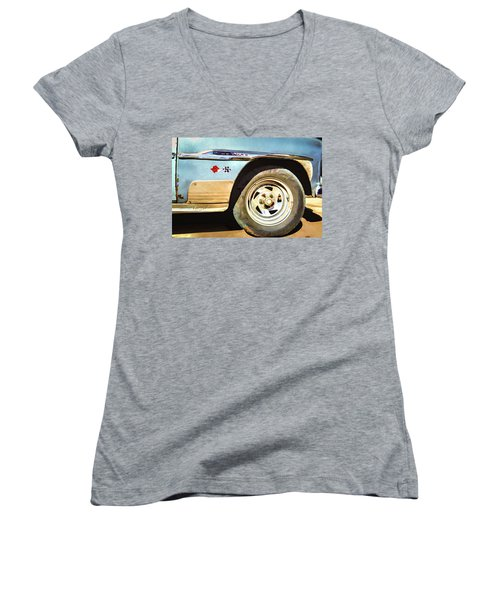 Chevy Deluxe Women's V-Neck (Athletic Fit)