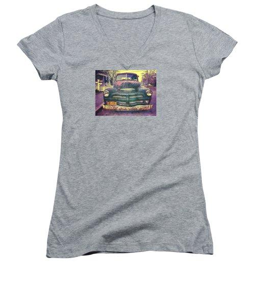 Chevy Women's V-Neck T-Shirt
