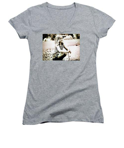Childhood Memories Women's V-Neck T-Shirt