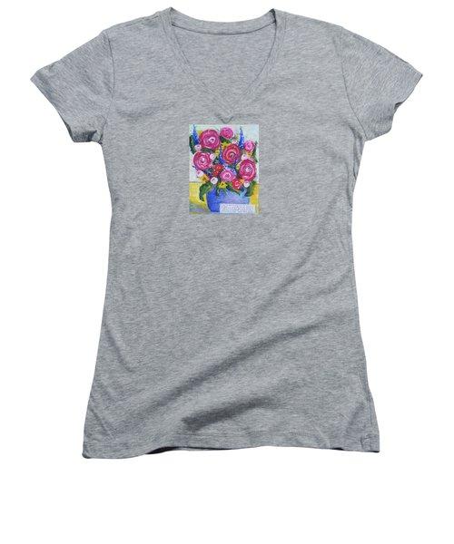 Choice Bouquet Women's V-Neck T-Shirt