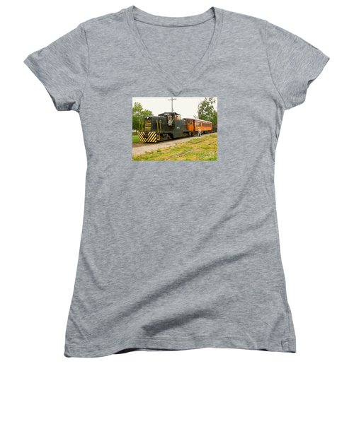 Choo Choo Women's V-Neck (Athletic Fit)
