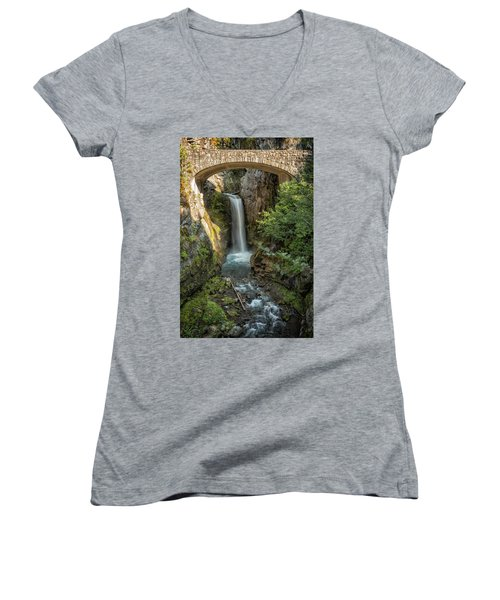 Christine Falls Women's V-Neck