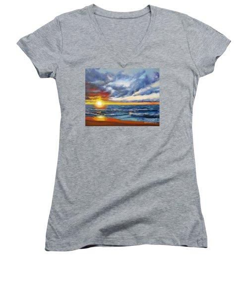 Christmas Cove Women's V-Neck T-Shirt