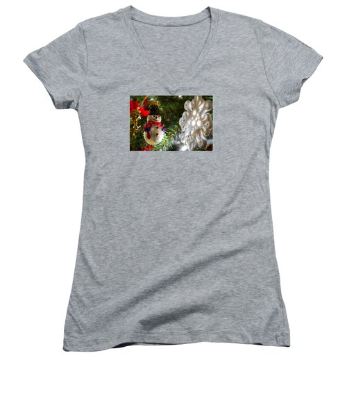 Christmas Tree Memories Women's V-Neck