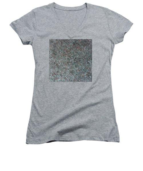 Chrome Mist Women's V-Neck T-Shirt