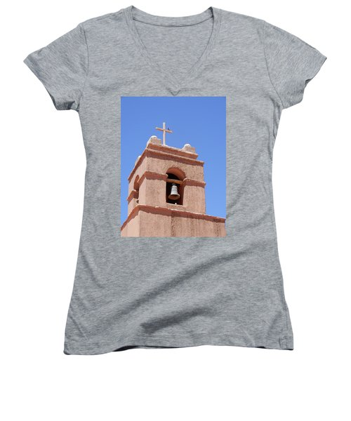 Church Of Socaire Women's V-Neck (Athletic Fit)