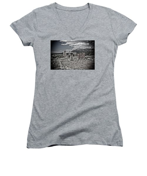 Church On The Hill Women's V-Neck (Athletic Fit)