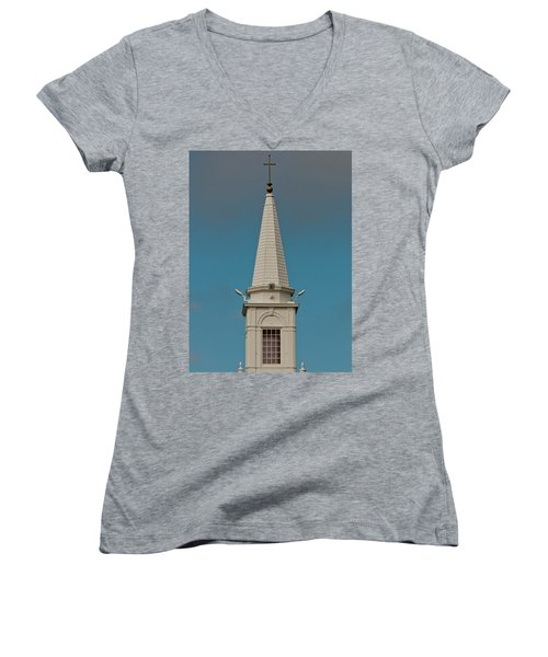 Church Steeple Women's V-Neck
