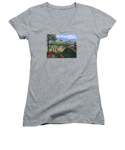 Cider Valley Women's V-Neck