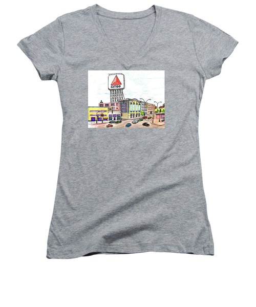 Citco Boston Women's V-Neck T-Shirt