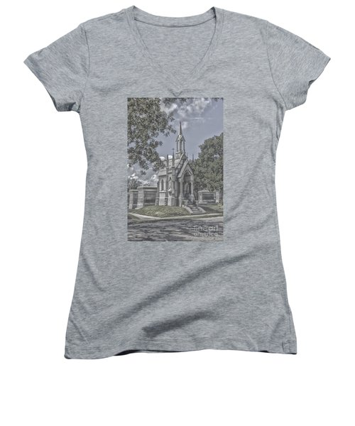 Cities Of The Dead Women's V-Neck (Athletic Fit)
