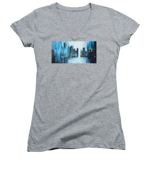 City Blues Women's V-Neck T-Shirt