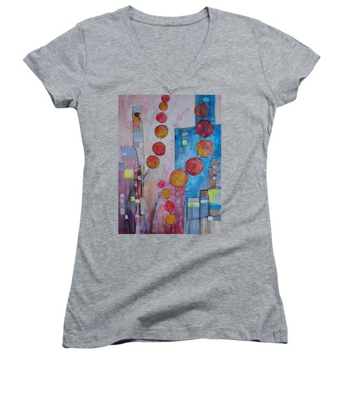 City Festival Women's V-Neck (Athletic Fit)