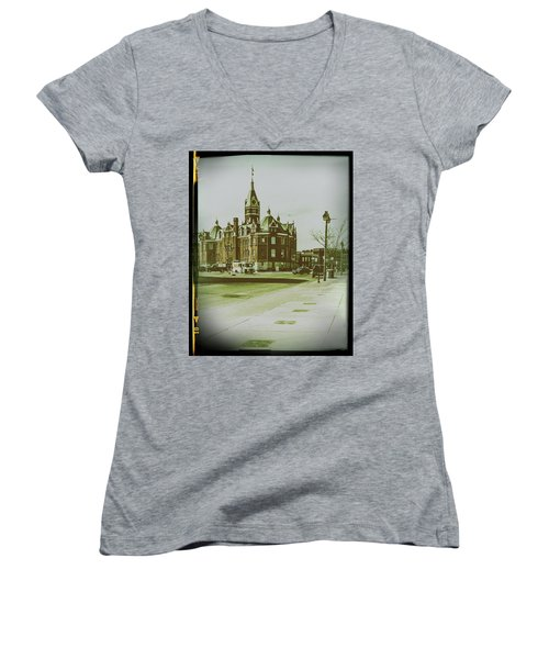 City Hall, Stratford Women's V-Neck