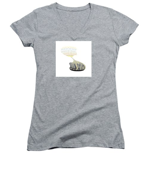 City Speech Bubble Women's V-Neck
