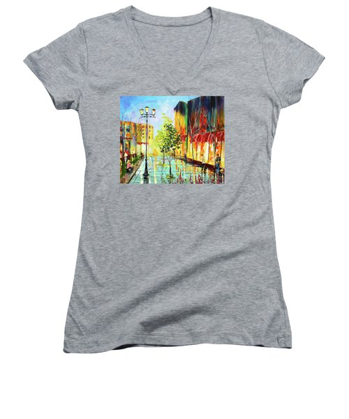 City Street Women's V-Neck