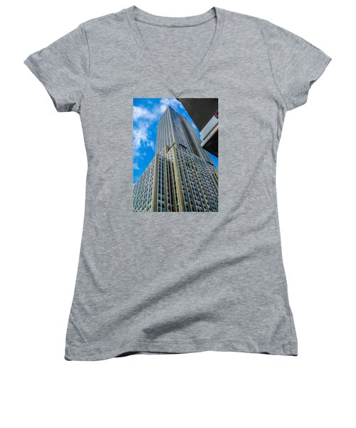 City Tower Women's V-Neck (Athletic Fit)