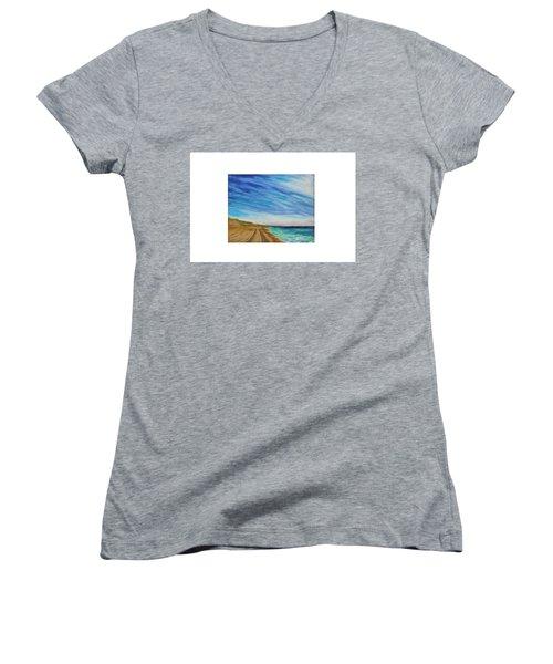 Clammin Home Women's V-Neck T-Shirt