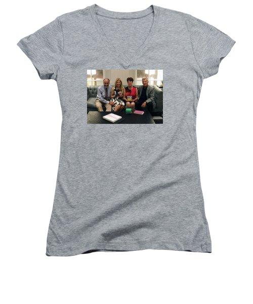 Claremont Reunion Women's V-Neck T-Shirt