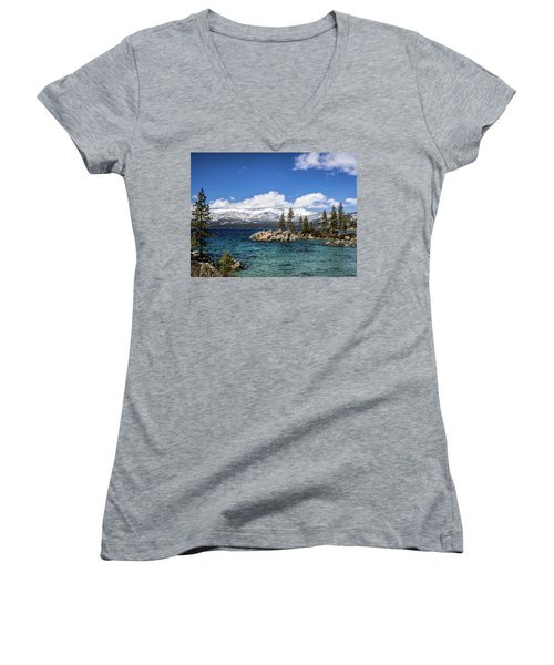 Clearing Sky Women's V-Neck