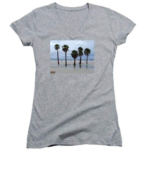 Clearwater Beach Women's V-Neck
