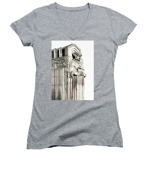 Cleveland Icon Women's V-Neck