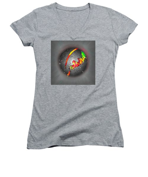 Climate Change Women's V-Neck T-Shirt