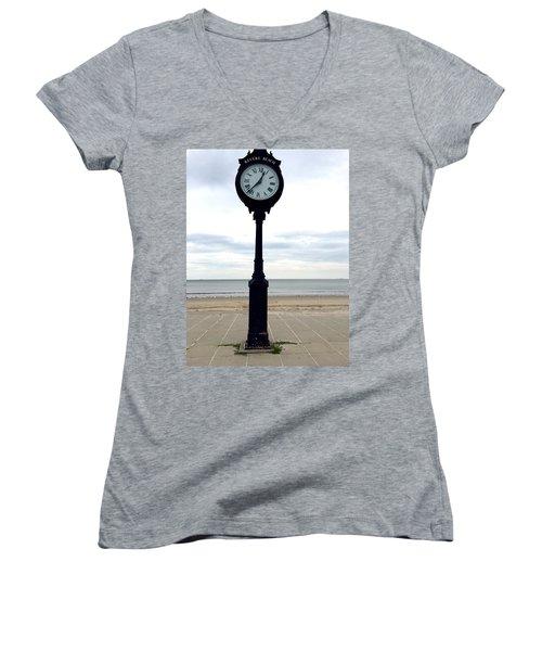 Clock 101 Women's V-Neck T-Shirt