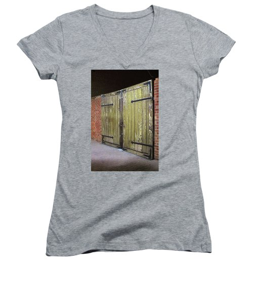 Closed Until Tomorrow Women's V-Neck T-Shirt