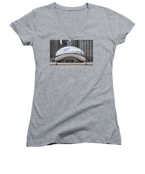 Cloud Gate Women's V-Neck (Athletic Fit)
