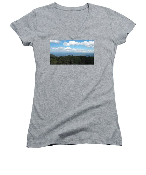 Cloud Shadows Women's V-Neck