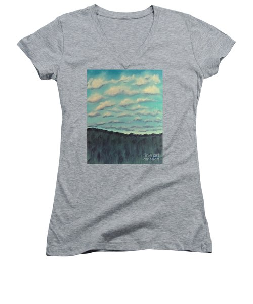Cloud Study Women's V-Neck T-Shirt
