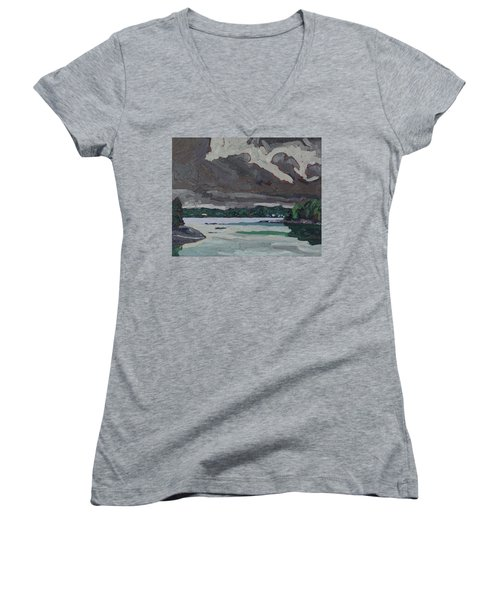 Clouds And Drizzle Women's V-Neck