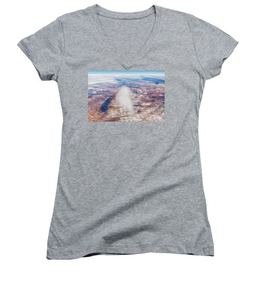 Clouds And Shadows Women's V-Neck