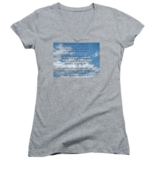 Clouds Illusions Women's V-Neck (Athletic Fit)