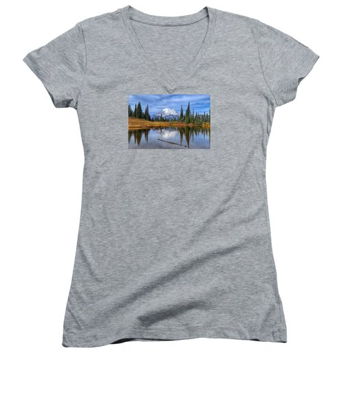 Clouds In The Morning Women's V-Neck T-Shirt