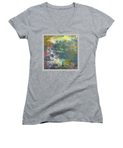 Clouds Over Water Women's V-Neck T-Shirt