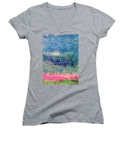 Clover Field Women's V-Neck