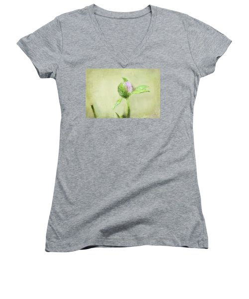 Clover Women's V-Neck T-Shirt